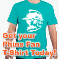 Get your Phins Fan T-Shirt!