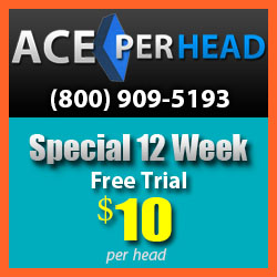 12 weeks free Pay Per Head