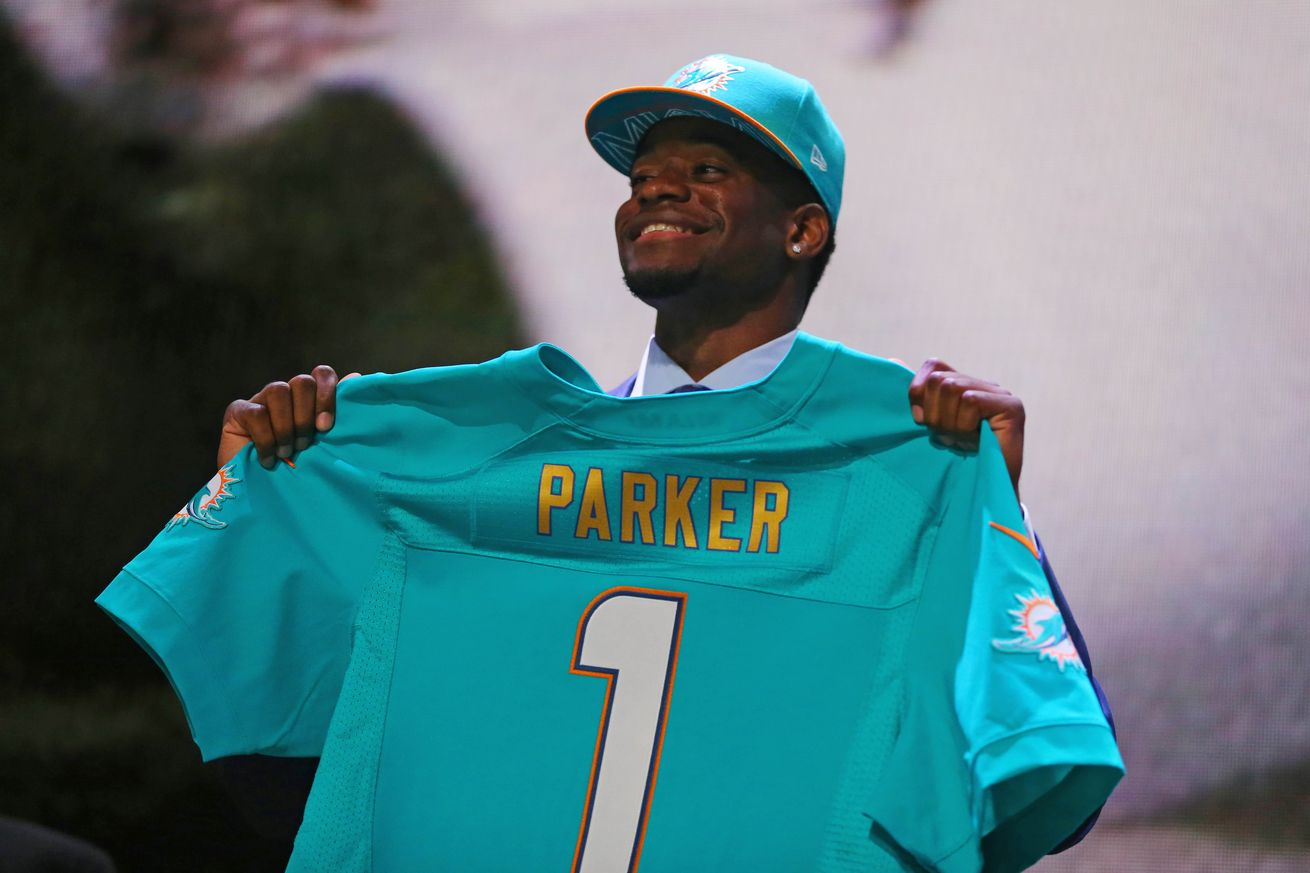 Parker was the first overall pick in the Draft, but it's been 5th round pick Ajayi that has been the most accomplished.