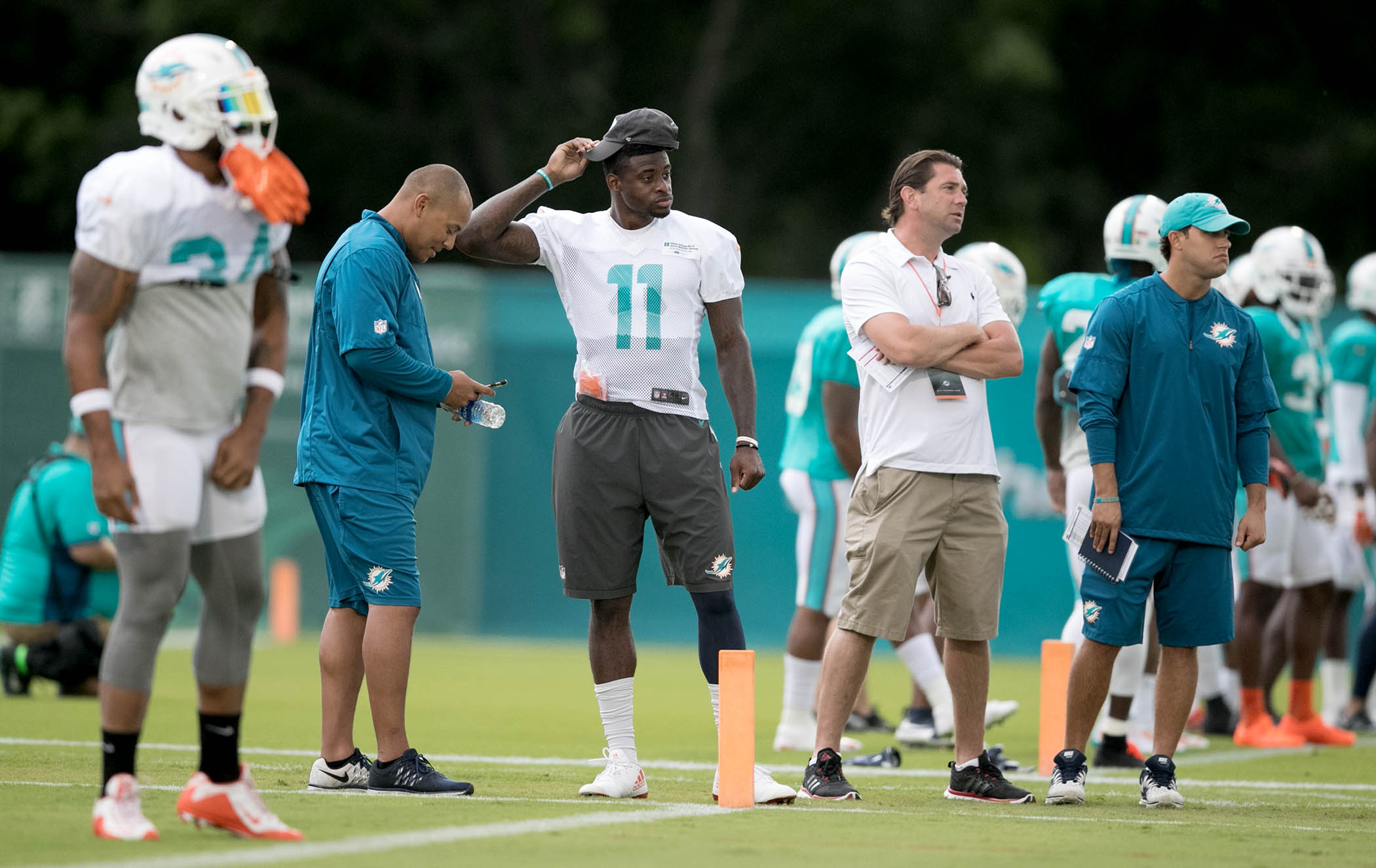 Despite some early bumps in the Dolphins Training Camp, Miami appears much improved
