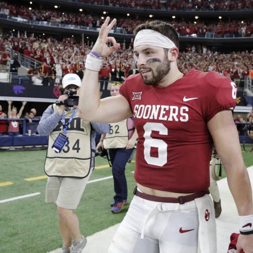 Mayfield looks to be a boom or bust pick... can Miami afford not to pull the trigger