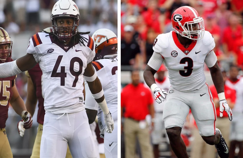 Both Smith and Edmunds are excellent prospects at Linebacker